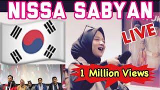 HEBOH !!! NISSA SABYAN DI KOREA