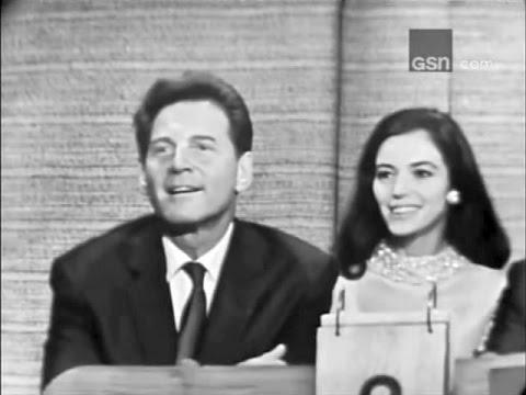 What's My Line?  Jean Pierre Aumont & Marisa Pavan; PANEL: Joey Bishop, H.G. Brown Jul 24, 1966