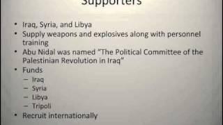 Abu Nidal Presentation