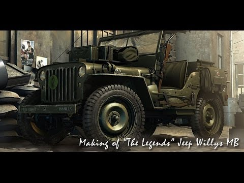 Jeep Willys MB Obra Genial de Engenharia Work Genial Engineering Ingeniería 1939 45 War WWII