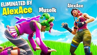 So I stream sniped Muselk...