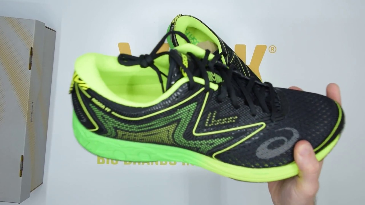 ASICS Gel-Noosa FF - Black / Green - Unboxing | Walktall