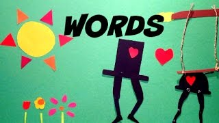 The Secret Life of Words - Paper Cut Out Animation