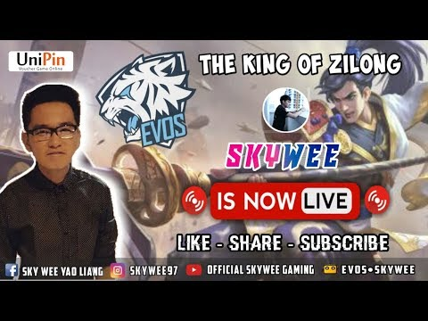 🔴 LIVE - RRQ LEMON WITH EVOS SKYWEE I !! ROAD TO GLOBAL NO.1 JAWHEAD!MOBILE LEGENDS