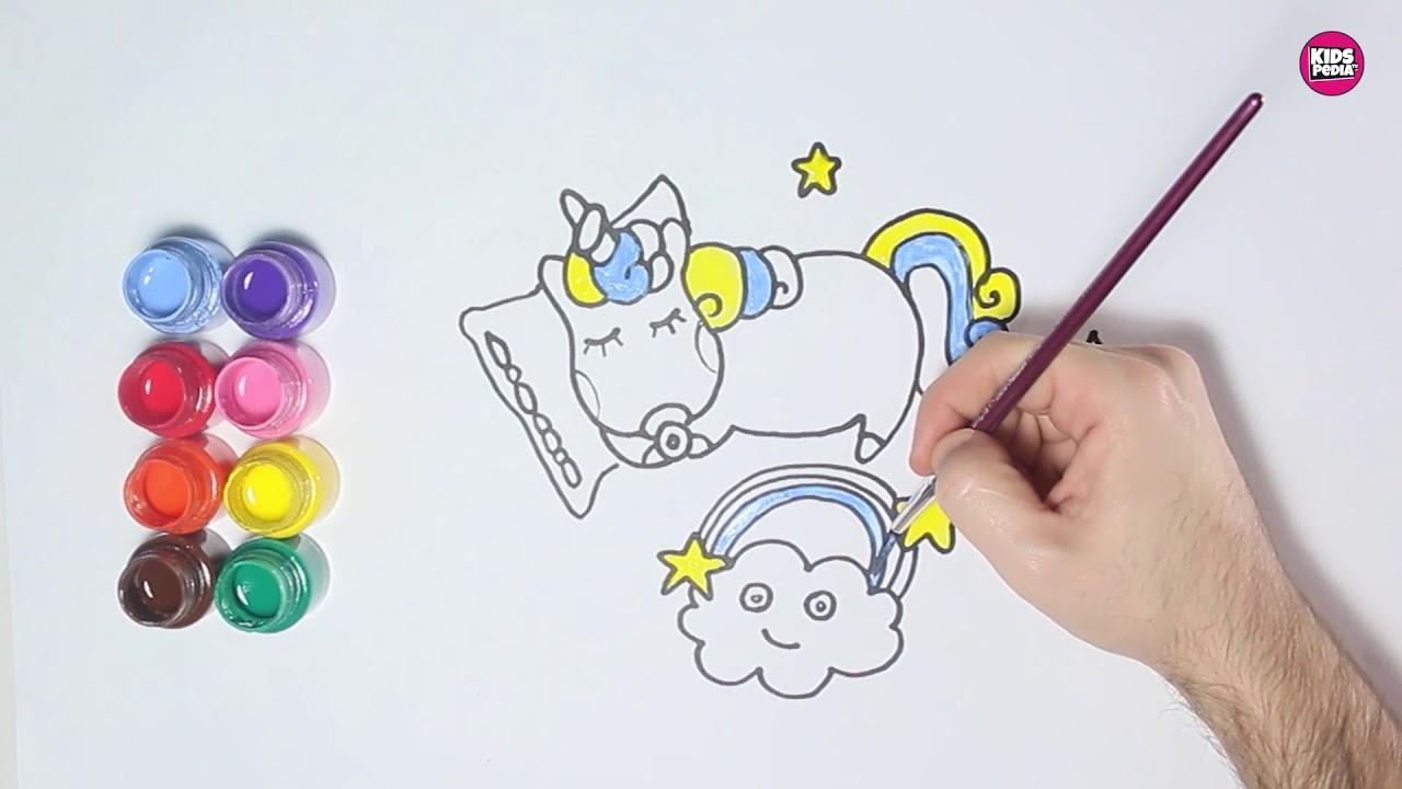 Unicorn Boyama Funny Coloring And Drawing Unicorn Youtube