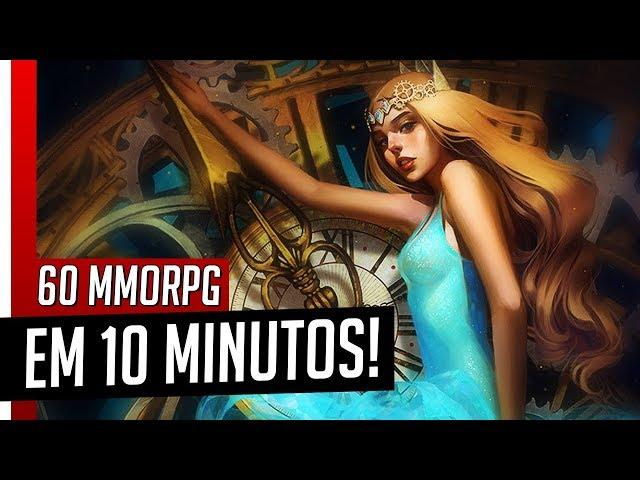 OS MELHORES MMORPG AINDA ATIVOS! 60 Jogos em 10 Minutos - Jogue Agora!