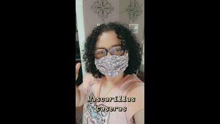 MASCARILLAS CASERAS DIY Face Mask 1