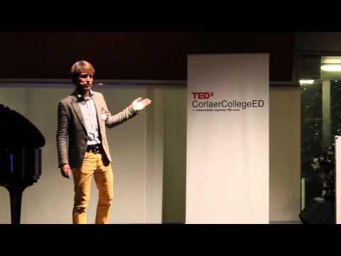 Een middelbare school die mij depressief maakte! | Rob van Neck | TEDxCorlaerCollegeED