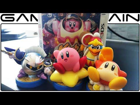 Kirby amiibo Series Unboxing (Meta Knight, Dedede, Waddle Dee, & Kirby)