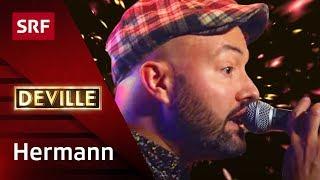 Hermann mit «Plakat» - #deville