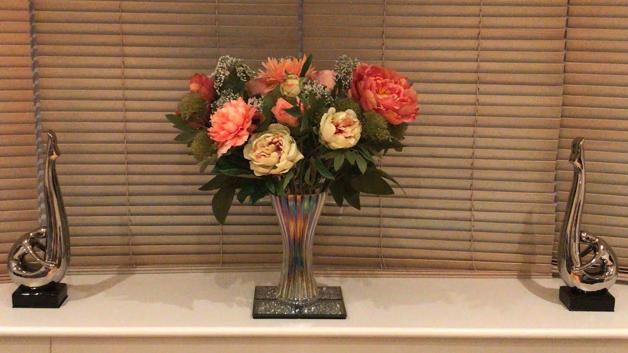The Range Homesense Tk Maxx Home Bargains Summerhill Artificial Flower Arrangements Youtube