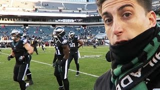 SNUCK ON THE FIELD- NFL!!!!!!!!!