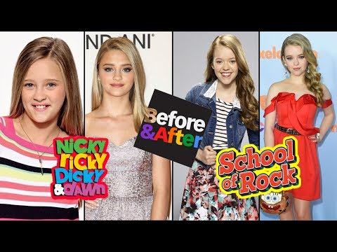Nickelodeon Famous Girls Stars Before and After 2017 - Star News