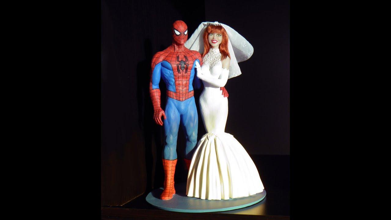 Garfield Wedding Cake Topper