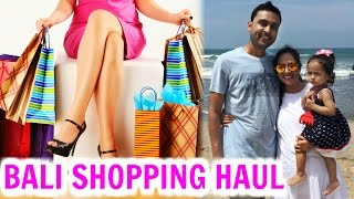 HUGE Bali Shopping Haul - Zara, Aldo, H&M, ForeverNew .. | ShrutiArjunAnand