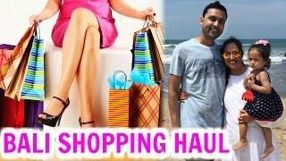 HUGE Bali Shopping Haul - Zara, Aldo, H&M, ForeverNew .. | ShrutiArjunAnand