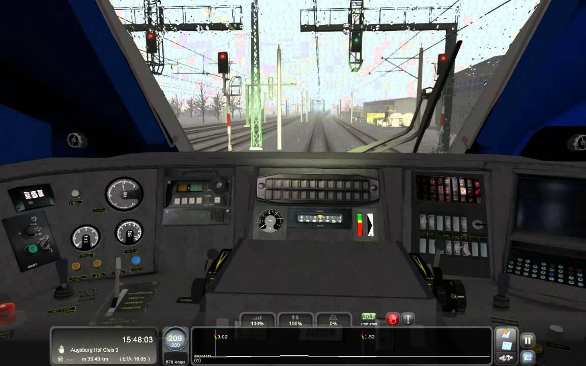 Railworks Train Simulator 2013 Tgv Duplex Youtube