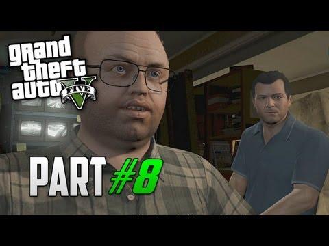 Grand Theft Auto 5 Gameplay Walkthrough Part 8 - Friend Request