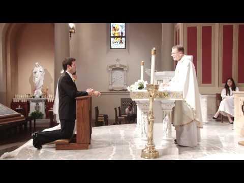 Catholic Wedding Ceremony at St. Monica