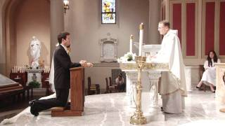 Catholic Wedding Ceremony at St. Monica