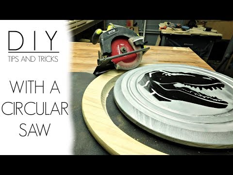 How to Build a Workbench Out of Plywood, Cut Circles with a Circular Saw, Line Wood with Steel & More