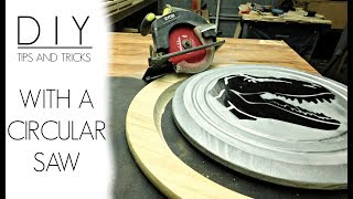 DIY -  Woodworking Tips and Tricks with a Circular Saw | Izzy Swan