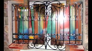 Разные варианты кованные решетки на окнах(Смотрите разные варианты кованные решетки на окнах. Обычно решетки цепляют на окна, чтобы защитить ваш..., 2016-01-01T10:41:06.000Z)