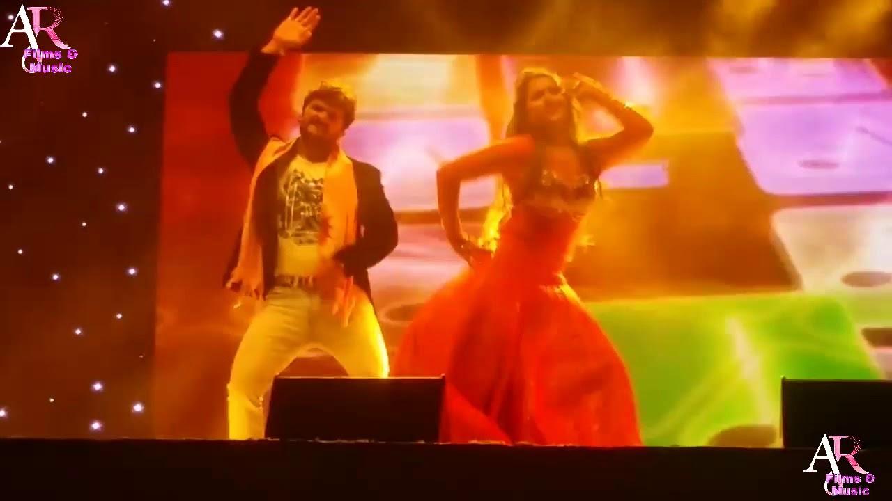 Khesari lal kajal raghwani stage show dubai मे कमाल का रहा स्टेज प्रोग्राम