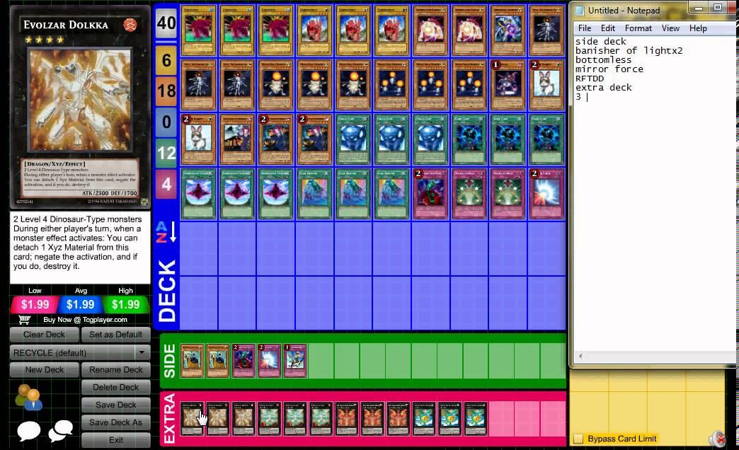 I Want Make Yugi Deck