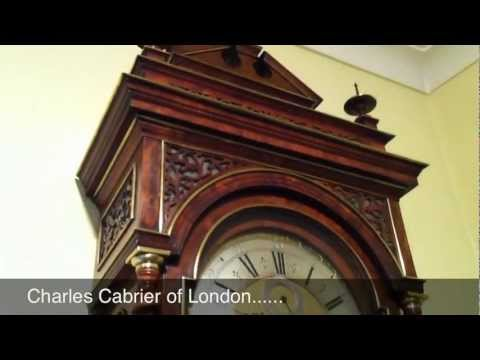 Charles Cabrier Longcase Clock - Antique Clock Video