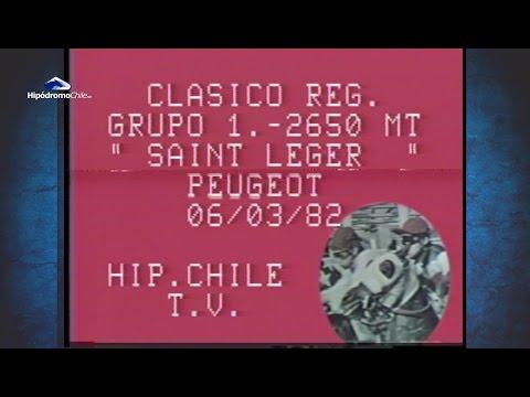 St Leger 1982 - Mapalo - Pedro Ceron