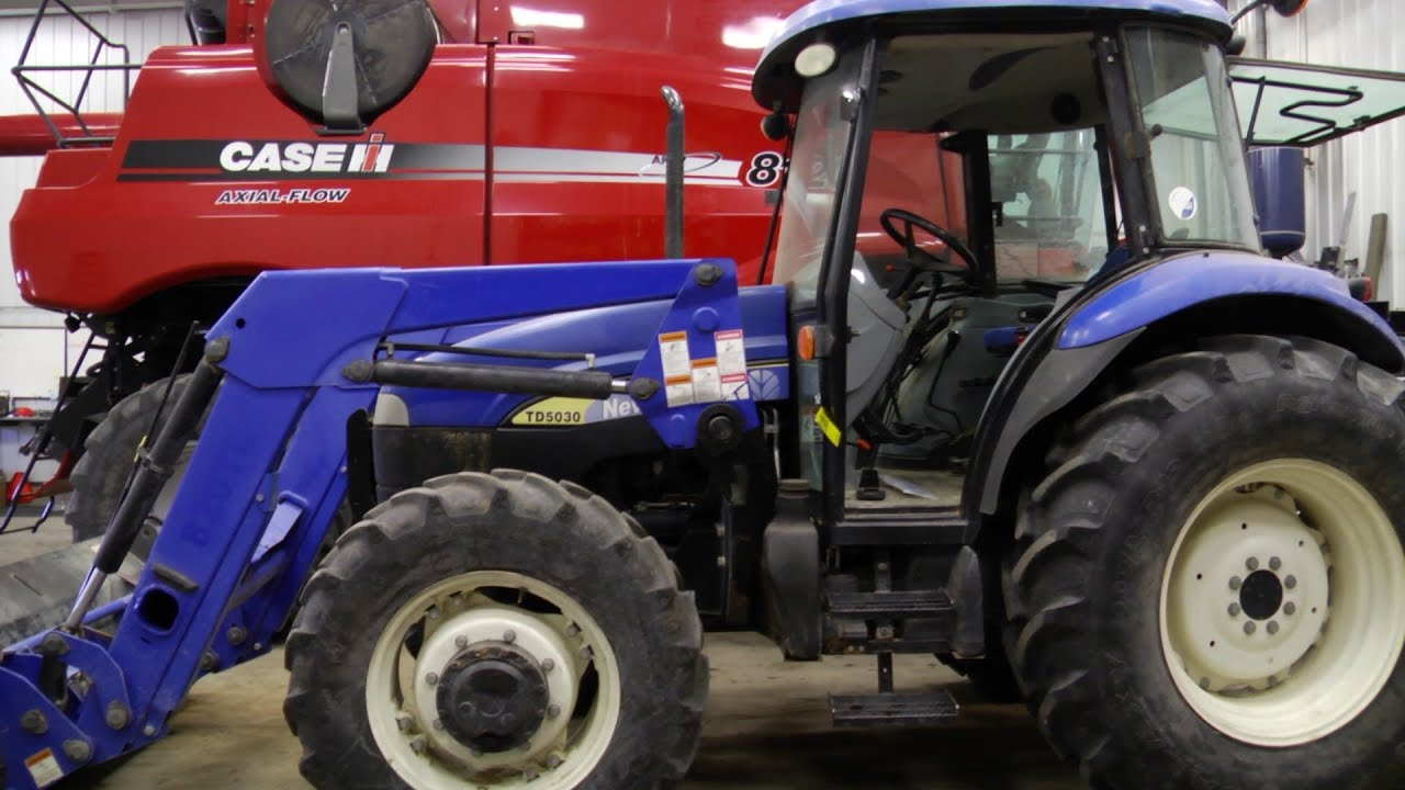 How To Install a New Door on a New Holland TD5030 Tractor