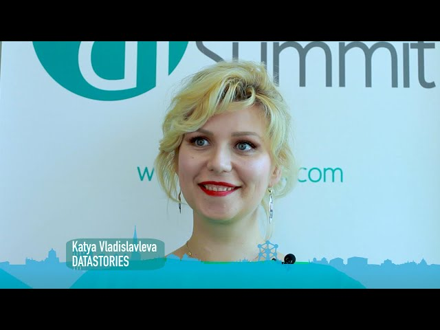 Interview with Katya Vladislavleva, Chief Data Scientist & CEO, DataStories