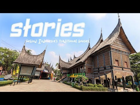 Live: Stories behind Indonesia's traditional houses探访印尼缩影公园