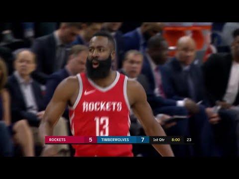 1st Quarter, One Box Video: Minnesota Timberwolves vs. Houston Rockets