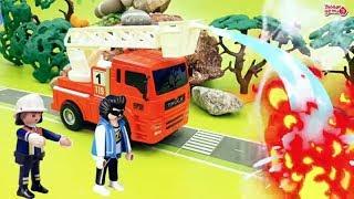 Истрия про аварию автоцистерны на дороге Потушить огонь! Мультфильм про машинки Умные Дети ТВ
