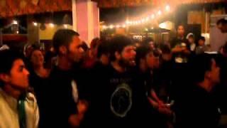 Apresentação da banda (BSA) no festival de garagem com a musica SWE...