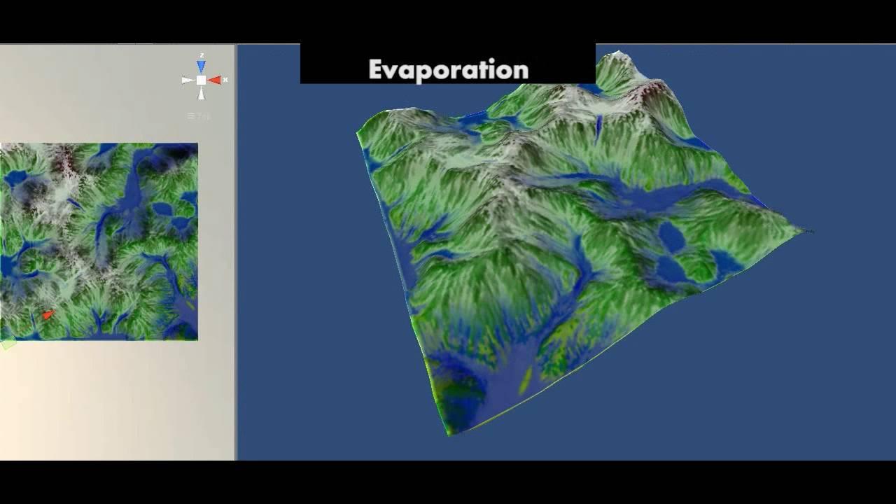Fractal Nature - Procedural Terrain Generator