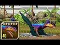 EUDIMORPHODON LEVEL 40 - NEW VIP DINOSAUR - Jurassic World The Game Gameplay Hacks
