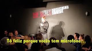 Fábio Rabin - Stand Up Comedy (Brazilian comedian in England)