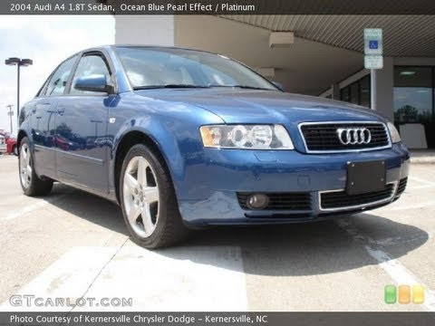 2004 audi a4 1 8t quattro new jersey pre owned youtube. Black Bedroom Furniture Sets. Home Design Ideas