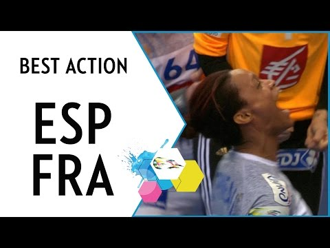 Pineau beats the buzzer - and Spain | Spain vs France | EHF EURO 2016