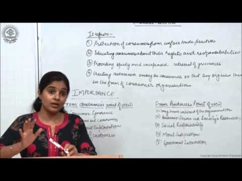 Meaning and Importance of Consumer Protection Class XII Business Studies by Ruby Singh