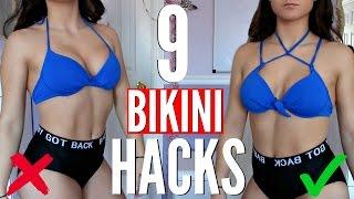 9 BIKINI Clothing Hacks EVERY Girl MUST KNOW !!