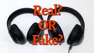 Are your Beats Studio Wireless 2 Headphone Fake? ONLY way to spot Genuine Beats.(I bought a pair of Beats Studio 2 Wireless headphones on eBay. I thought they were real. It turns out it was a really good Beats Headphone fake! For more ..., 2016-03-03T02:52:41.000Z)