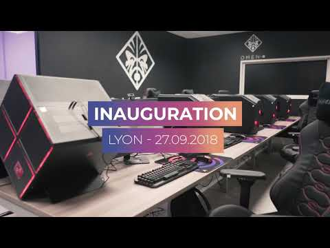 Inauguration du Gaming Campus Lyon : Business School & Ecole esport & Cours jeux video