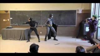Batman Class Prank Halloween 2009