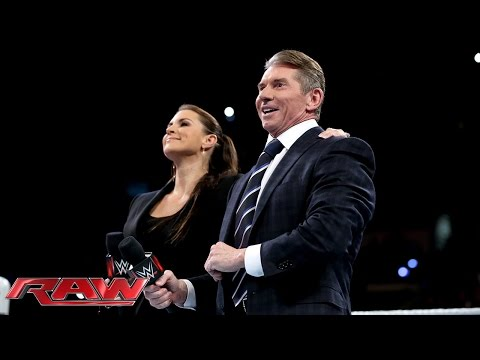 Mr. McMahon & Stephanie McMahon address the WWE roster: Raw, January 11, 2016