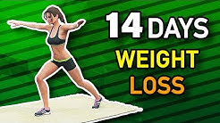 14 Days Weight Loss Challenge - Home Workout Routine