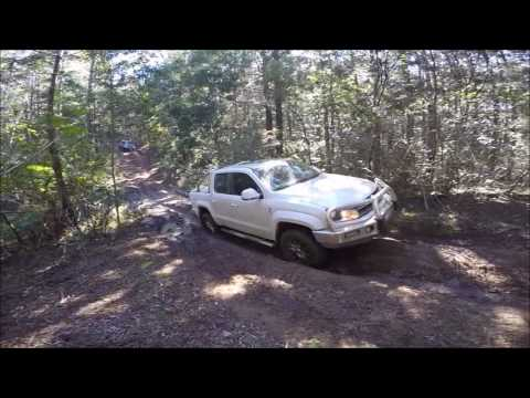 Four Wheel Driving and Camping Adventure in D'Aguilar National Park!